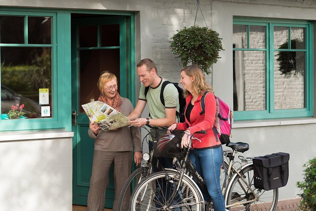 Label bienvenue vélo
