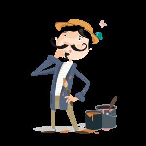 Gustave le peintre - Ciney - Mes-Carnets-d'Aventures