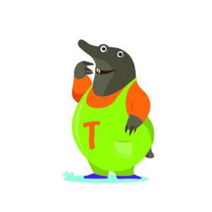 Illustration personnage carnet d'aventure Havelange