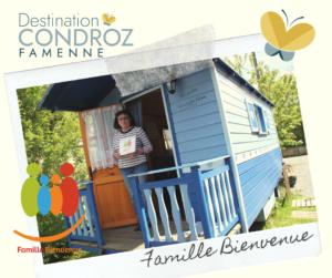 La Petite roulotte bleue à Scy - label Famille Bienvenue